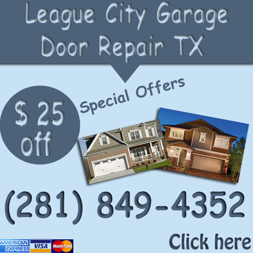League City Garage Door Repair Overhead Opener Spring Repair
